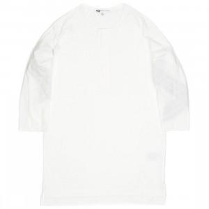 Adidas Y-3 Men Henley STP Tee (white)
