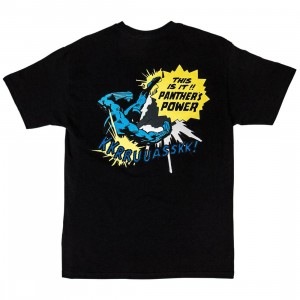 BAIT x Marvel Men Black Panther Comic Tee (black)