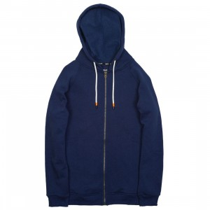 BAIT Men Zip Up Hoody (navy)
