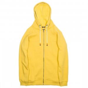 BAIT Men Zip Up Hoody (yellow)