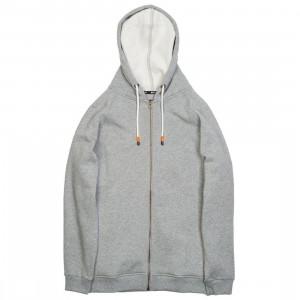 BAIT Men Zip Up Hoody (gray)