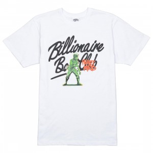 Billionaire Boys Club Men BB Army Tee (white)