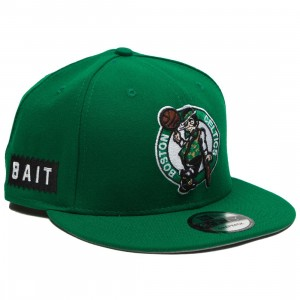BAIT x NBA X New Era 9Fifty Boston Celtics OTC Snapback Cap (green)