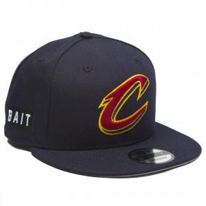 BAIT x NBA X New Era 9Fifty Cleveland Cavaliers OTC Snapback Cap (navy)