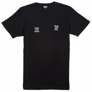 Dimepiece Women Add Tax Tee (black)