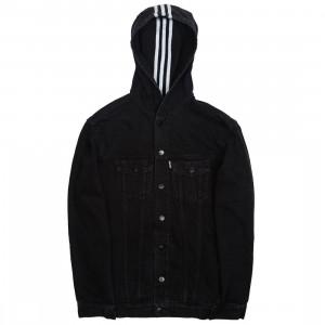 Adidas Consortium x Naked Women Denim Jacket (black)