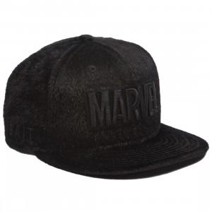 BAIT x Marvel x New Era Black Panther Marvel Panther Snapback Cap (black)