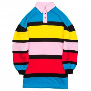 Lazy Oaf Women End Of Rainbow Jersey Dress (multi)
