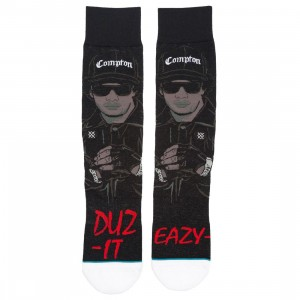 Stance Men Eazy E Eazy Duz It Socks (black)