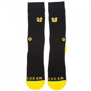 Stance Men Wu Tang Patch Socks (black)