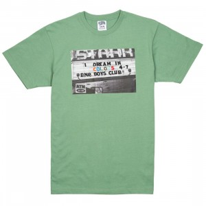 Billionaire Boys Club Men Dream Knit Tee (green / shale)