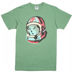 Billionaire Boys Club Men Cadet Tee (green / shale)