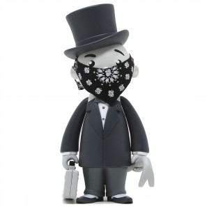 BAIT x Monopoly x Switch Collectibles Mr Pennybags 7 Inch Vinyl Figure - Grey Edition (gray)