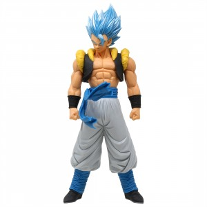 Banpresto Dragon Ball Super The Movie Grandista Resolution of Soldiers Gogeta Figure (blue)