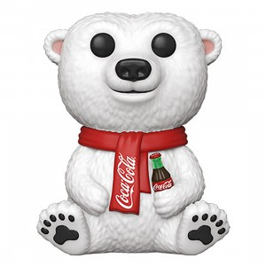 PREORDER - Funko POP Ad Icons Coca-Cola Polar Bear (white)