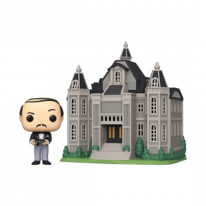 PREORDER - Funko POP Town Batman 80th Wayne Manor With Alfred (gray)