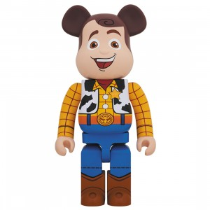 PREORDER - Medicom Toy Story Woody 1000% Bearbrick Figure (brown)