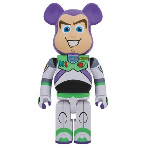 PREORDER - Medicom Toy Story Buzz Lightyear 1000% Bearbrick Figure (purple)