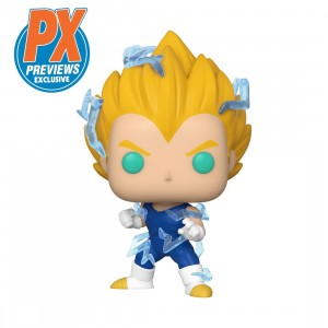 PREORDER - Funko POP Animation Dragon Ball Z Super Saiyan 2 Vegeta PX Previews Exclusive (blue)