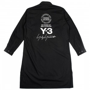 Adidas Y-3 Men Yohji Long Sleeve Shirt (black / white)