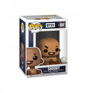 PREORDER - Funko POP Animations BT21 Shooky (brown)