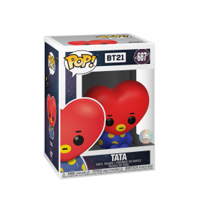 PREORDER - Funko POP Animations BT21 Tata (red)