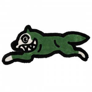 Ice Cream Running Dog Rug (green / leprechaun)
