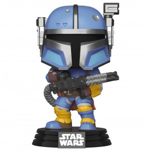 PREORDER - Funko POP Star Wars The Mandalorian - Heavy Infantry Mandalorian (blue)