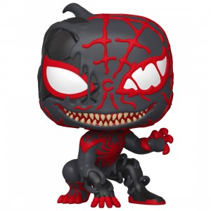 PREORDER - Funko POP Marvel Spider-Man Maximum Venom - Venomized Miles Morales (black)