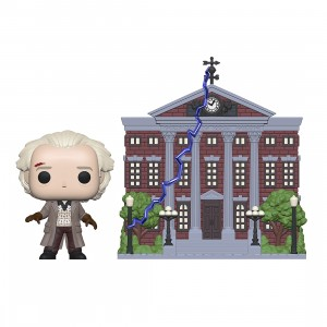 PREORDER - Funko POP Town Back To The Future - Doc With Clock Tower (gray)