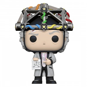 PREORDER - Funko POP Movies Back To The Future - Doc With Helmet (gray)