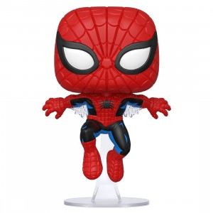 PREORDER - Funko POP Marvel 80th First Appearance Spider-Man (red)