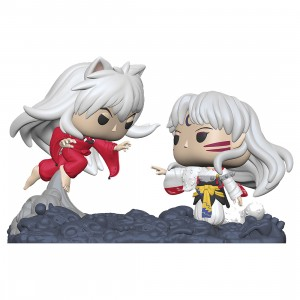 PREORDER - Funko POP Moment Inuyasha - Inuyasha vs. Sesshomaru Figure (white)