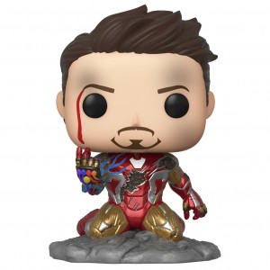 PREORDER - Funko POP Avengers Endgame I Am Iron Man Glow In Dark - PX Previews Exclusive (red)