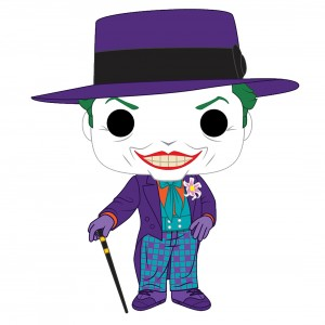 Funko POP Heroes Batman 1989 - Joker With Hat (purple)