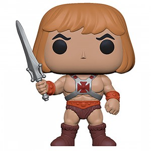 PREORDER - Funko POP Animation Masters of the Universe - He-Man (tan)