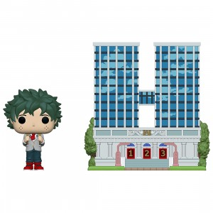 PREORDER - Funko POP Town My Hero Academia U.A. High School With Deku In Uniform (green)