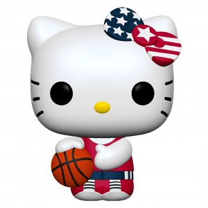PREORDER - Funko POP Sanrio Hello Kitty Sports x Team USA - Basketball Hello Kitty (white)