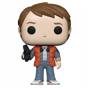 PREORDER - Funko POP Movies Back To The Future - Marty In Puffy Vest (orange)