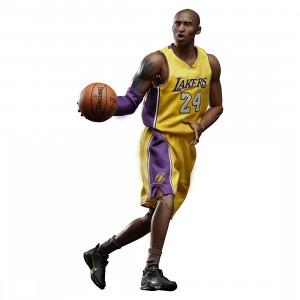 PREORDER - NBA x Enterbay LA Lakers Kobe Bryant Real Masterpiece 1/6 Scale Figure (yellow)