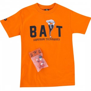 BAIT x San Francisco Giants x Bruce Lee Bundle - High Kick Tee (orange / black)