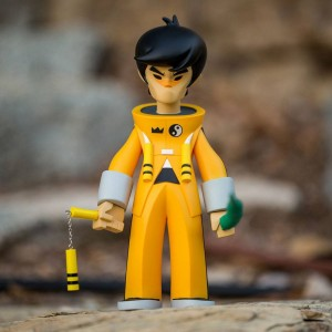 BAIT WonderCon Exclusive x Bruce Lee x Kano Dragon King Figure - Bruce Lee (yellow)