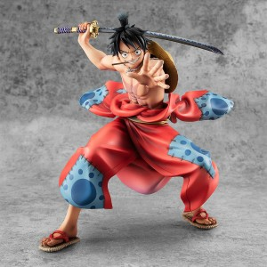 PREORDER - MegaHouse One Piece Portrait of Pirates Warriors Alliance Luffy Taro Figure (red)