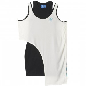 Adidas Women Couture Dress (white / off white / black / eqt green)