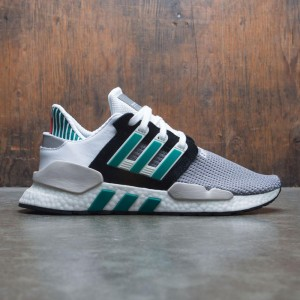 Adidas Men EQT Support 91/18 (black / clear granite / sub green)
