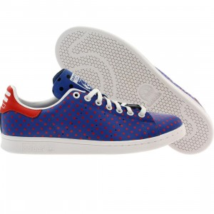 Adidas x Pharrell Williams Men Stan Smith SPD - Polka Dot Pack (blue / blubir / red / ftwwht)