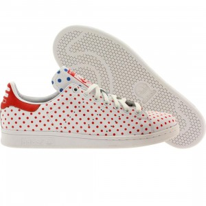 Adidas x Pharrell Williams Men Stan Smith SPD - Polka Dot Pack (white / ftwwht / red / blubir)