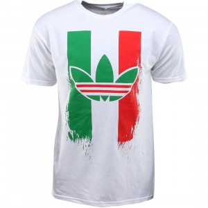 Adidas Super Soft Ringspun Mexico Tee (white / green / red)