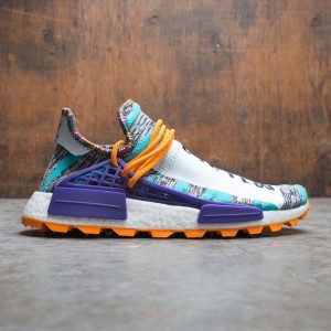 Adidas Consortium x Pharrell Williams Men Solar HU NMD (teal / hi-res aqua / core black / collegiate purple)