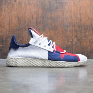 Adidas x Pharrell Williams Men Tennis HU BBC (white / scarlet / dark blue)